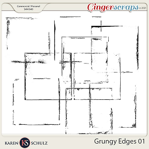 Grungy Edges 01 by Karen Schulz