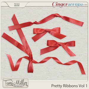Pretty Ribbons Vol 1 by Tami Miller Designs
