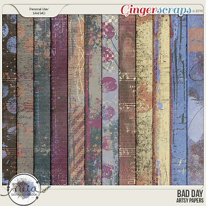 Bad Day - Artsy papers - by Neia Scraps