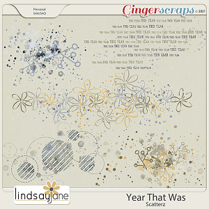 Year That Was Scatterz by Lindsay Jane