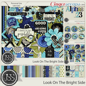 Look On The Bright Side Digital Scrapbooking Bundle