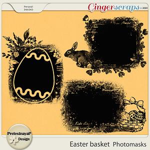 Easter basket Photomasks