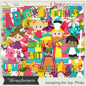 Jumping for Joy- Pinks