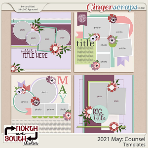 2021 May: Counsel Templates by North Meets South Studios