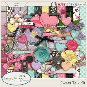 Sweet Talk Page Kit