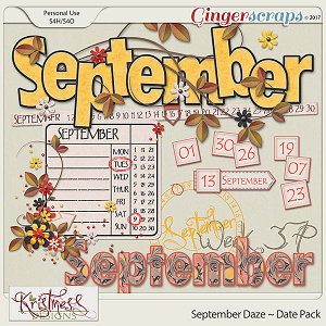 September Daze Date Pack