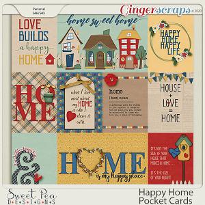 Happy Home Pocket Cards