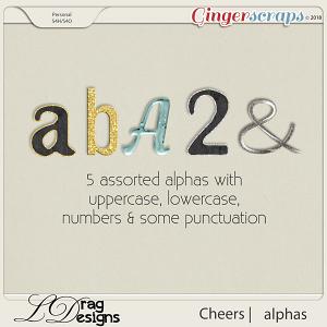Cheers:Alphas by LDragDesigns