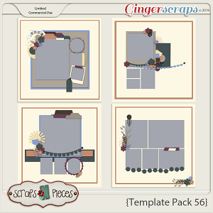 Template Pack 56 by Scraps N Pieces
