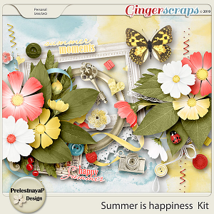 Summer is happiness Kit