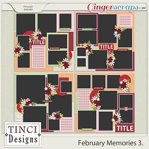 February Memories 3.