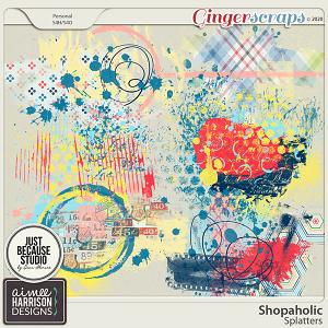 Shopaholic Splatters by Aimee Harrison and JB Studio