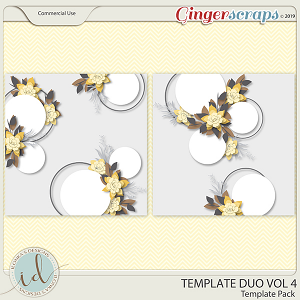 Template Duo Vol 4 by Ilonka's Designs