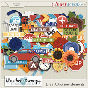 Life's A Journey Element Pack