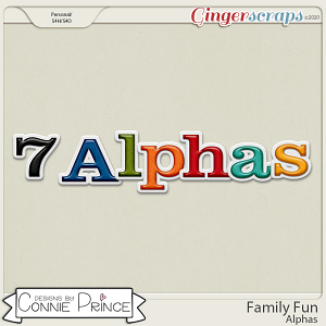Family Fun - Alpha Pack AddOn by Connie Prince