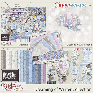 Dreaming of Winter Collection by Aimee Harrison and Kristmess Designs