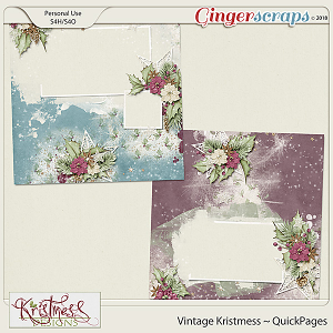 Vintage Kristmess QuickPages
