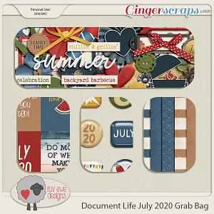 Document Life July 2020 Grab Bag by Luv Ewe Designs