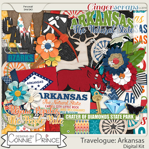 Travelogue Arkansas - Kit by Connie Prince