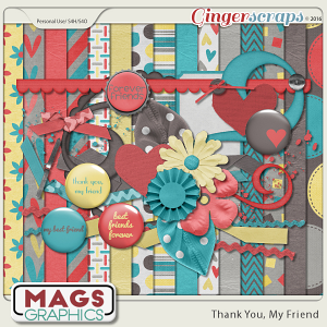 Thank You, My Friend KIT by MagsGraphics