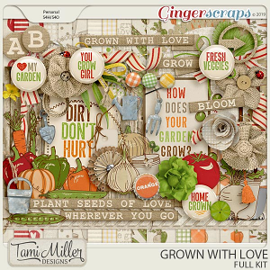 Grown with Love Full Kit by Tami Miller Designs