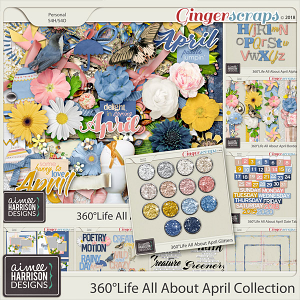 360°Life All About April Collection by Aimee Harrison
