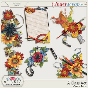 A Class Act - Cluster Pack