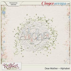 Dear Mother Alphabet