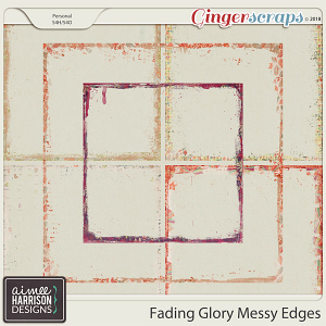 Fading Glory Messy Edges by Aimee Harrison