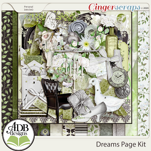 Dreams Page Kit by ADB Designs