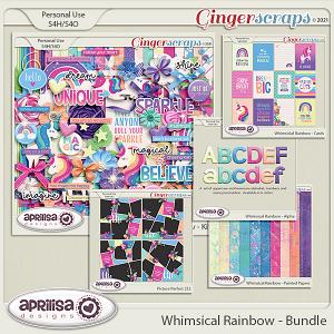 Whimsical Rainbow - Bundle by Aprilisa Designs