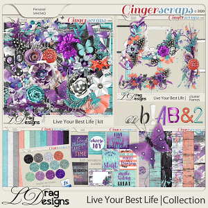 Live Your Best Life: The Collection by LDragDesigns