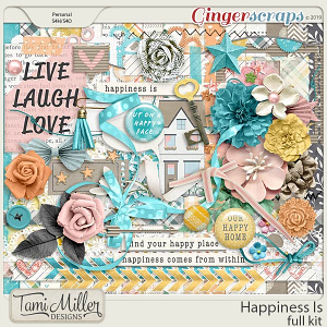 Happiness Is Full Kit by Tami Miller Designs