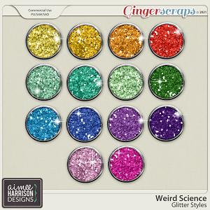 Weird Science Glitters by Aimee Harrison