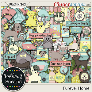 Furever Home KIT by Heather Z Scraps