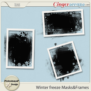 Winter freeze Masks&Frames