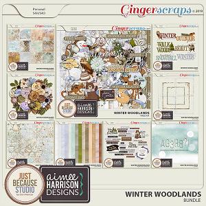 Winter Woodlands Bundle by JB Studio & Aimee Harrison Designs