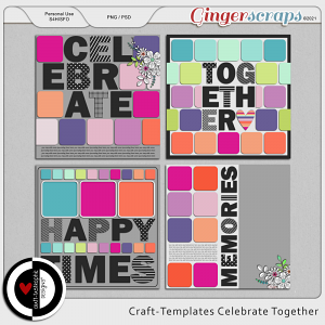 Craft ❤ Templates Celebrate Together