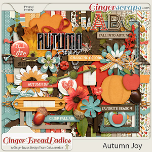 GingerBread Ladies Collab: Autumn Joy