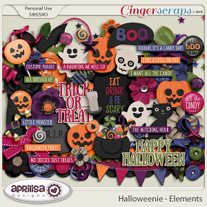 Halloweenie - Elements by Aprilisa Designs