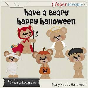 Beary Happy Halloween