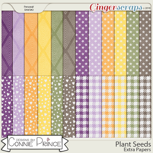 Plant Seeds - Extra Papers by Connie Prince