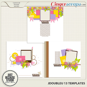 JDoubleU 13 Templates by JB Studio