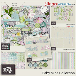 Baby Mine Collection by Aimee Harrison