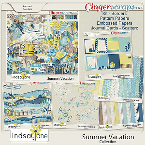 Summer Vacation Collection by Lindsay Jane