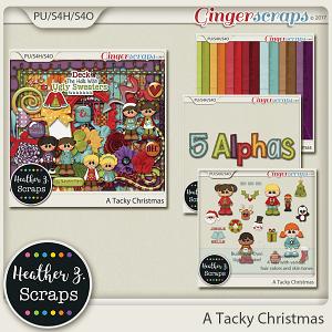 A Tacky Christmas BUNDLE by Heather Z Scraps