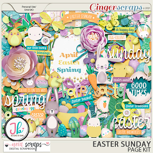 Easter Sunday - Page Kit - by Neia Scraps and JB Studio