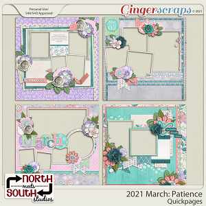 2021 March: Patience Quickpages by North Meets South Studios