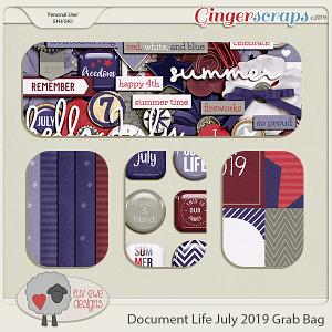 Document Life July 2019 Grab Bag by Luv Ewe Designs