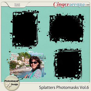 Splatters Photomasks Vol.6